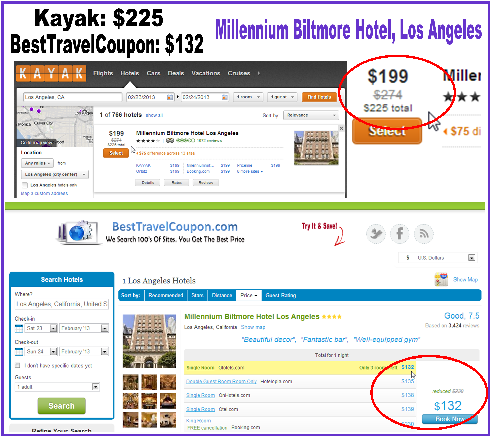 Comparison http travel search engines com hotel search comparison