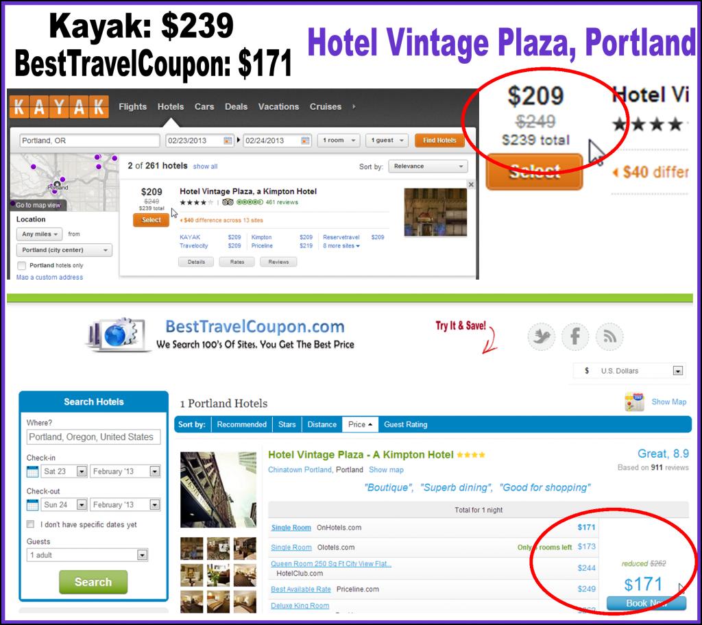 Kayak Hotel Portland