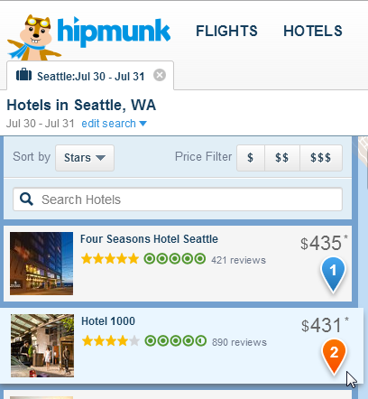Hipmunk Travel Review